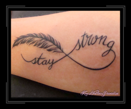 infinity stay strong