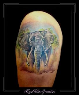 olifant bovenarm