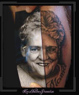 portret moeder