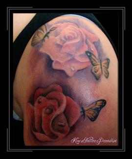 rozen en vlinders
