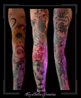 sleeve,leeuw,zonnebloem,dobbelstenen,schorpioen,bloesem,bloemen,spinneweb,spin,roos,naam,namen,