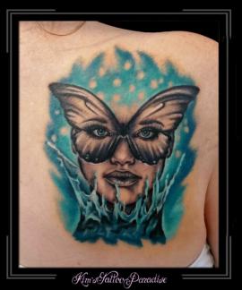 vlindervrouw